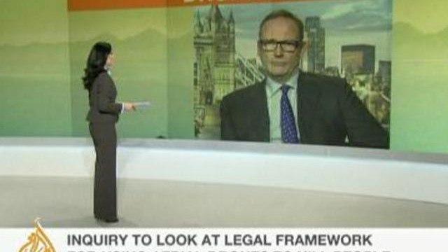 Ben Emmerson, UN special rapporteur on human rights, talks to Al Jazeera