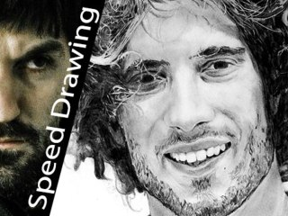 SIC! Marco Simoncelli portrait TRIBUTE! Amazing Speed Drawing!