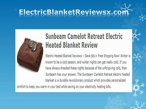 Electric Blanket Reviews - Top 10 Electric Heated Blankets