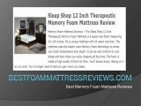 Memory Foam Mattress Reviews - Top 10 Memory Foam Mattresses