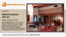 A vendre - maison - Salles d'Aude (11110) - 8 pièces - 205m