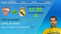 Officiel : Diego Lopez signe au Real Madrid !