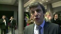 Interview de David Assouline lors du rassemblement des secrétaires de section