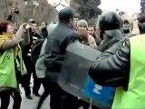 Des manifestations contre les violences policières à Bakou