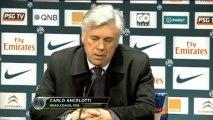 22e journée - Ancelotti : ''Beaucoup de bons joueurs en Ligue 1''