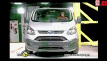 Euro NCAP  Ford Transit Custom  2012  Crash test