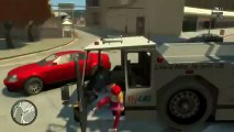 Grand Theft Auto IV Multiplayer w/Drew & Alex Ep.2 - Toll Booth EXPLOSION!