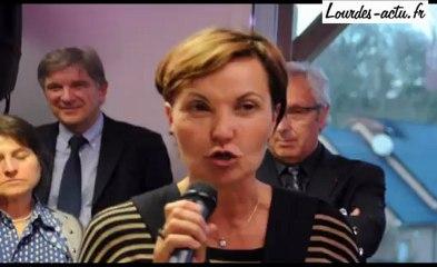 Inauguration micro-crèche à Jarret discours de Chantal Robin-Rodrigo