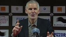 Conférence de presse OGC Nice - Girondins de Bordeaux : Claude  PUEL (OGCN) - Francis GILLOT (FCGB) - saison 2012/2013