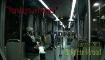 Bordeaux |Tram B | texte de Thomas Vinau | janvier 2013