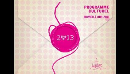 Programme culturel Lambesc janvier-juillet 2013
