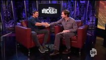 2012.10.09 Stephen Amell @ Attack of the show-G4 TV