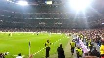 Cristiano Ronaldo Goal Camera supporter Real Madrid Bernabeu