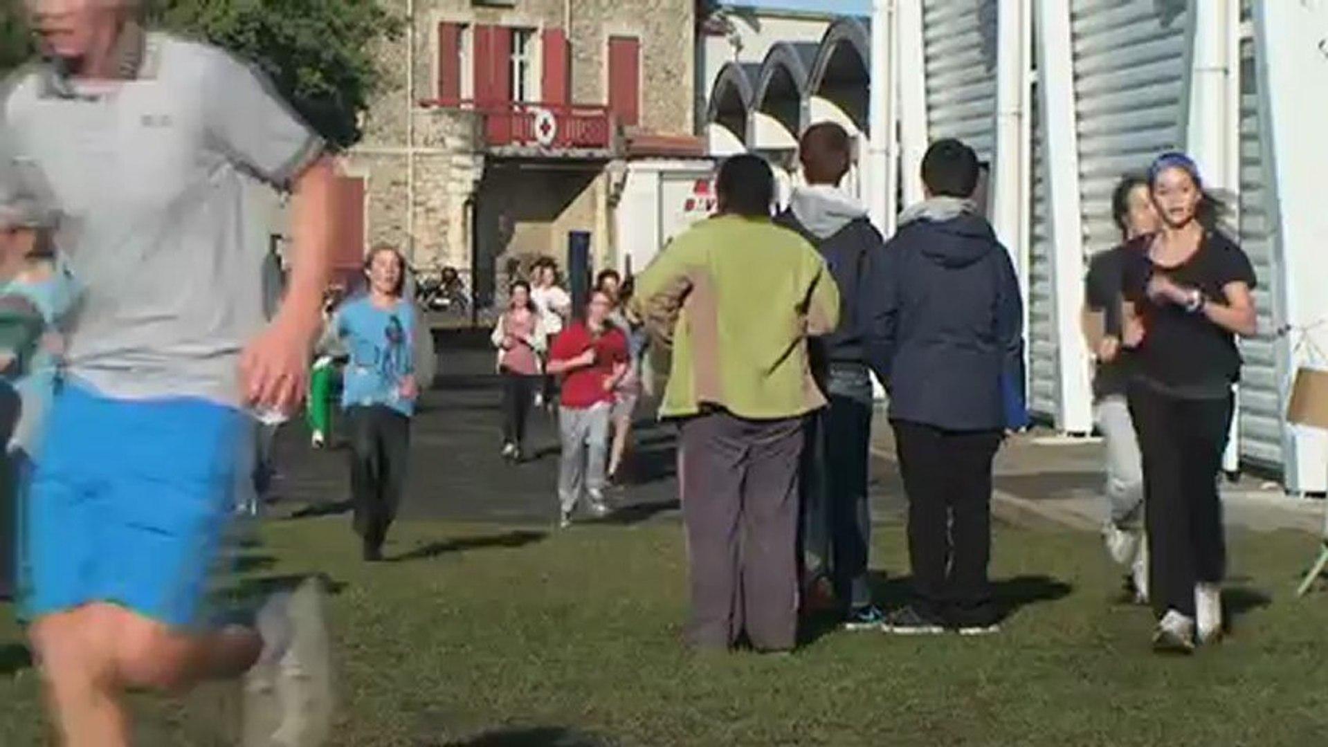 Collège Jean Rostand Biarritz : Cross contre la SLA