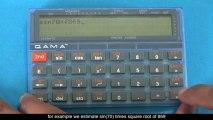La calculadora que piensa, si tú piensas (QAMA calculator)