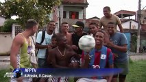 Football scouts spot talent in Rio favelas
