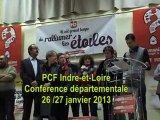 PCF 37 Conférence départementale