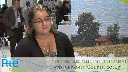 Interview de Leslie Bergeron, Coup de coeur des mairies de France