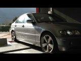 ::: o2programmation :::  BMW 330d 204@265Cv Optimisation Moteur sur Banc de Puissance Cartec o2programmation Marseille Gemenos PACA