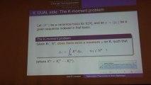Optimisation Polynomiale et semi-algébrique, par Jean-Bernard Lasserre (LAAS, Université de Toulouse)