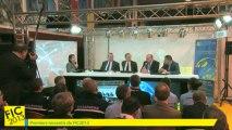 Premiers ressentis du FIC 2013 (Gendarmerie Nationale, CEIS, Conseil régional Nord-Pas de Calais, Euratechnologies)