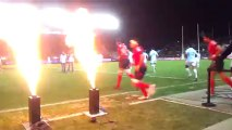 RCT-PERPIGNAN -  Projecteur de flammes de feux par TOF Animation