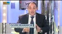 Bourse de Paris./..BNP Paribas 20 euros./..CAC 40 à 2000 pts./..En 2013/Olivier Delamarche..