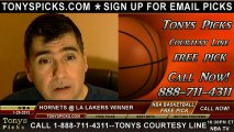 LA Lakers versus New Orleans Hornets Pick Prediction NBA Pro Basketball Odds Preview 1-29-2013