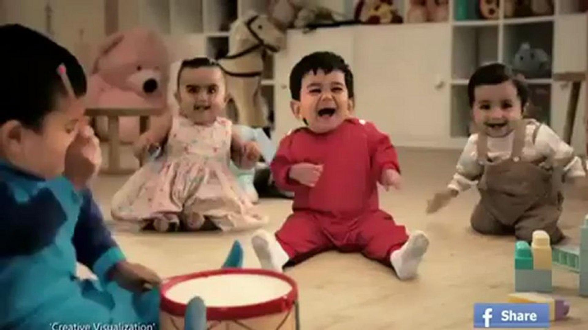 Kitkat kids dancing funny Tv commercial