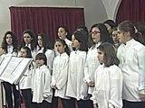 Maddaloni (CE) - Il Coro delle Voci Bianche del San Carlo al Villaggio (29.01.13)