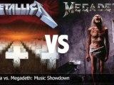 Metallica vs. Megadeth: Music Showdown