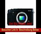Fujifilm X-E1 Kompakte Systemkkamera (16 Megapixel APS-C CMOS Sensor, 7,1 cm (2,8 Zoll) Display, Full HD, HDMI) nur Gehäuse schwarz