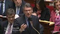[ARCHIVE] Réforme des rythmes scolaires : réponse de Vincent Peillon au député Christian Estrosi (groupe UMP) lors des questions au Gouvernement