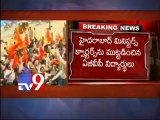 ABVP demands T-ministers resignation