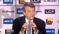 Questions d'info : Jean-Louis Borloo, Président du groupe UDI à l'Assemblée nationale, député du Nord