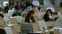 AP 30 janvier 2013 - Intervention de Fabienne LEVY sur l'accès à l'emploi durable et la sécurisation des parcours professionnels des Rhônalpins
