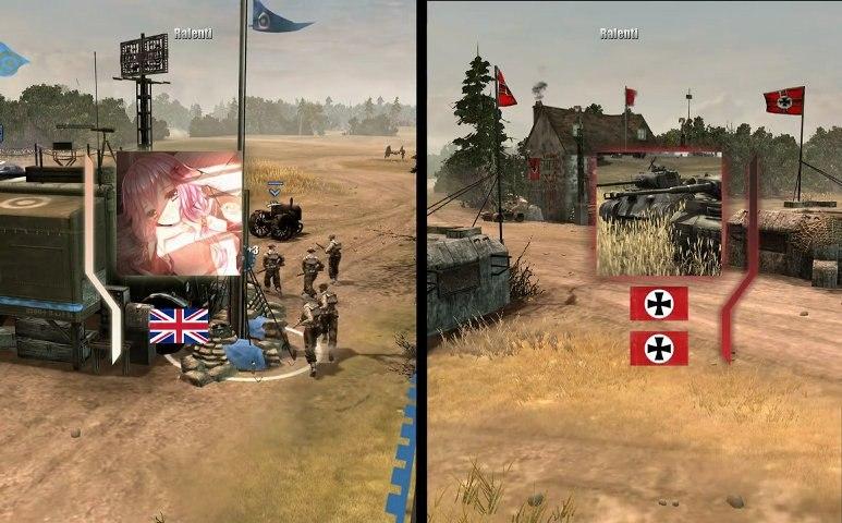 CoH : Technique de PGM - 1 vs 2 - Company of Heroes
