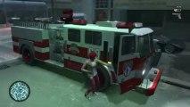 Grand Theft Auto IV Multiplayer w/Drew & Alex Ep.6 - FIRETRUCKES!