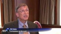 Aide humanitaire: Bill Gates dit ne pas agir pour la gloire