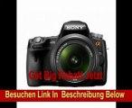 Sony SLT-A35Y SLT-Digitalkamera (16 Megapixel, 7,6 cm (3 Zoll) Display, Live View, Full HD Video) Double Zoom Kit inkl. 18-55 mm und 55-200 mm Objektiv schwarz