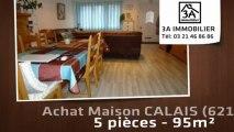 A vendre - maison - CALAIS (62100) - 5 pièces - 95m²