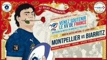 La boite à gifles du Montpellier Hérault Rugby - Episode 12 Saison 3 : Biarritz 02/09/2013