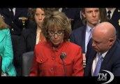 Armi, Gabrielle Giffords al Senato Usa: agite per i nostri figli. L'intervento all'audizione sulla legge per l'uso delle armi