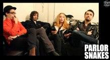 Parlor Snakes - Interview à la Maroquinerie (Paris) / novembre 2012