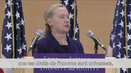 Hillary Clinton • Nations Unies