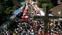 Eagles fly in the sky , During the colourful Procession , Kanjoor Church , St.Mary's Forane Church