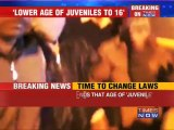 Juvenile row: MHA recommends lowering age.