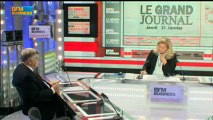 Didier Lombard de STMicroelectronics - 31 janvier - BFM : Le Grand Journal 1/4