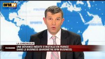 Chronique éco de Nicolas Doze : une défiance inédite s'installe en France dans les affaires - 01/02
