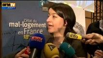 """Duflot : """"Nous avons besoin de 150.000 nouveaux logements sociaux"""" - 01/02"""